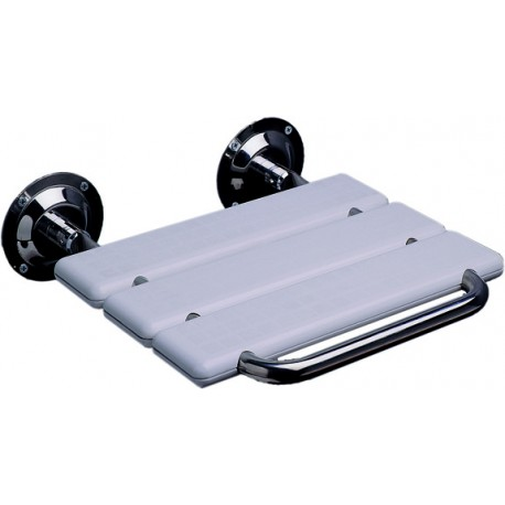 ASIENTO DUCHA ABATIBLE ABS/INOX AISI 304