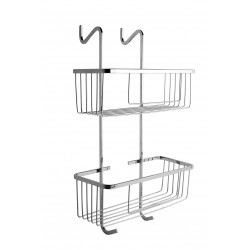 JABONERA DOBLE DE MAMPARA / DOUBLE BASKET FOR SHOWER ENCLOSE