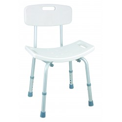 SILLA REGULABLE PARA BAÑO/ADJUSTABLE BATH CHAIR